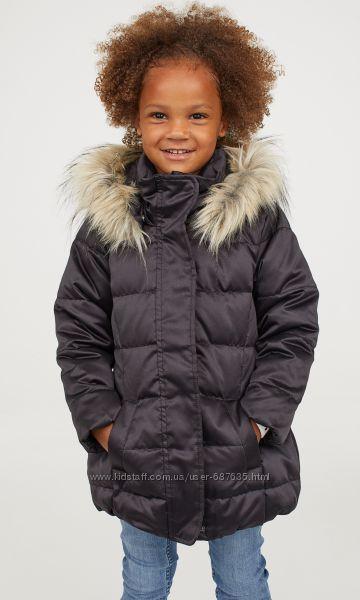 Пуховая куртка H&M PREMIUM QUALITY Черная Размер 140 на 8-10 лет Винница - изображение 1