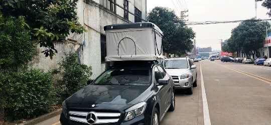 Namiot samochodowy dachowy wyprawowy z materacem