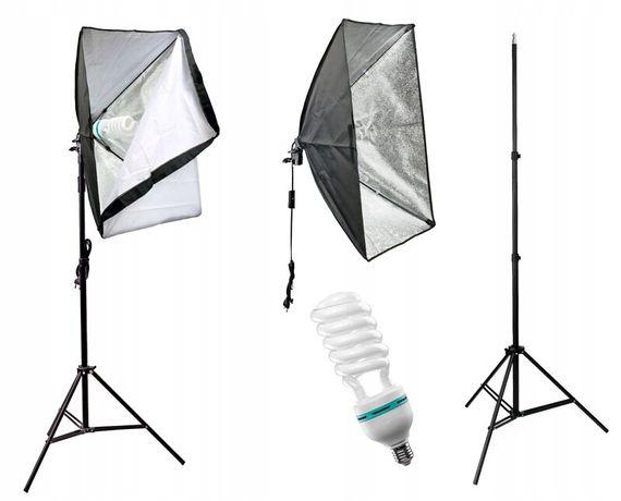 Набор постоянного света Софтбокс 50*70см+лампа 135Вт+ тринога