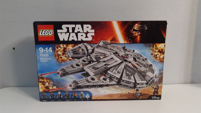 Lego Star Wars Сокіл Тисячоліття 75105 Лего
