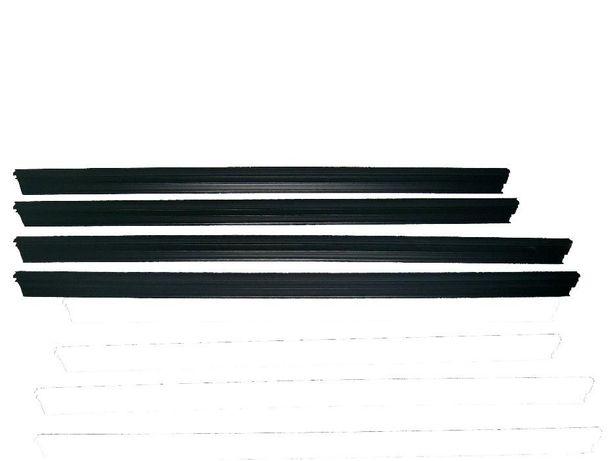 Уплотнитель опускного стекла ВАЗ 2170, 2171, 2172 Приора (бархотка)