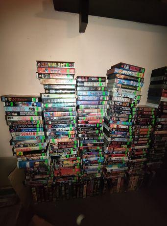 Sprzedam ok 1100 kaset VHS okazja