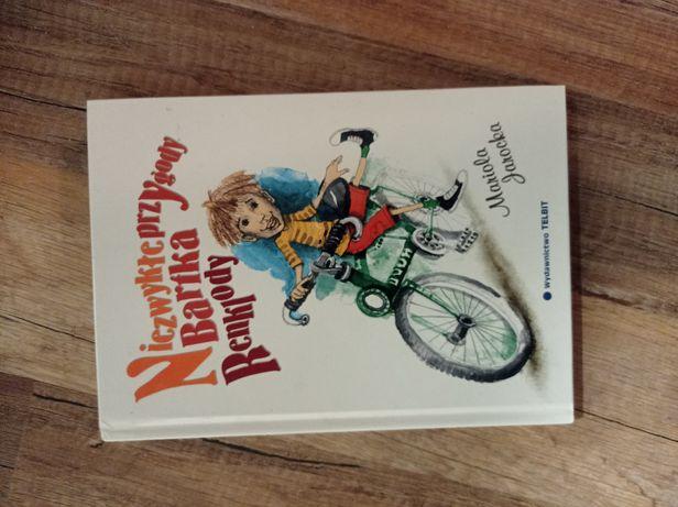 """Książka ,,Niezwykłe przygody Bartka Renklody"""""""