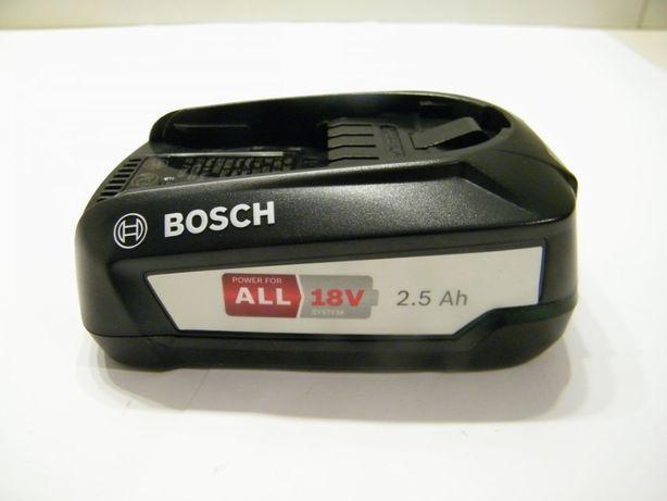 NOWY Bosch akumulator PBA 18v 2,5Ah POWER4ALL wysyłka TEŻ