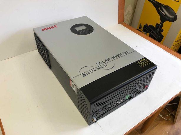 НОВЫЙ Гибридный солнечный инвертор 5200 Вт MUST PH18-5248 PRO MPPT