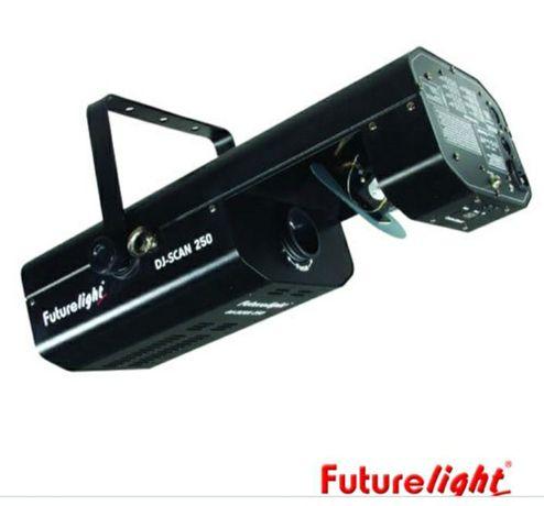 projetor luz  robot future light dj-scan 250