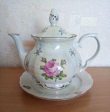 Новый чайник КАНLA Роза ГДР