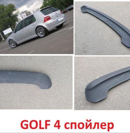 Спойлер для Volkswagen Golf 4 GTI,R32.Козырек ,реснички на Гольф 4 .