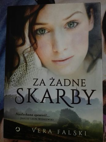 "Książka ""Za żadne skarby"" Vera Falski"