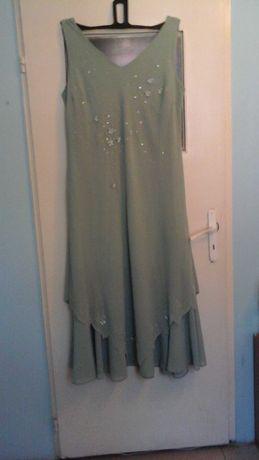 Śliczna seledynowa sukienka rozm.3xl