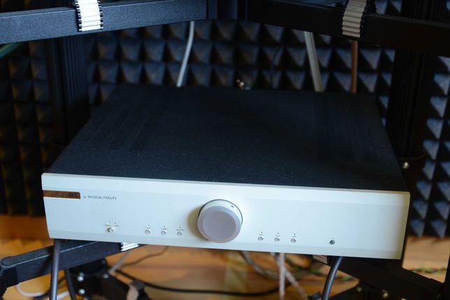 Amplificador integrado + Leitor Universal + Etapa phono