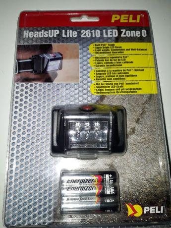 Профессиональный налобный фонарь ДЕШЕВЛЕ нет Peli HeadsUp Lite 2610