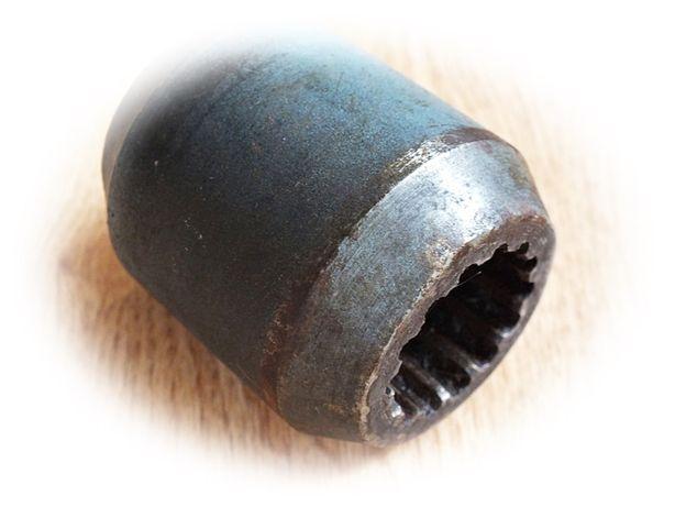 Tuleja napędu stożkowa / Tulejka klin/ wieloklin 14 frezów / 14 zębów