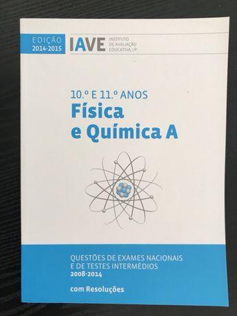Livros - IAVE Fisica e Quimica / Biologia e Geologia - 10º e 11º Anos