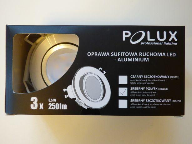 Polux - 3 x oprawa sufitowa ruchoma + 3 x LED GU10 - NOWA