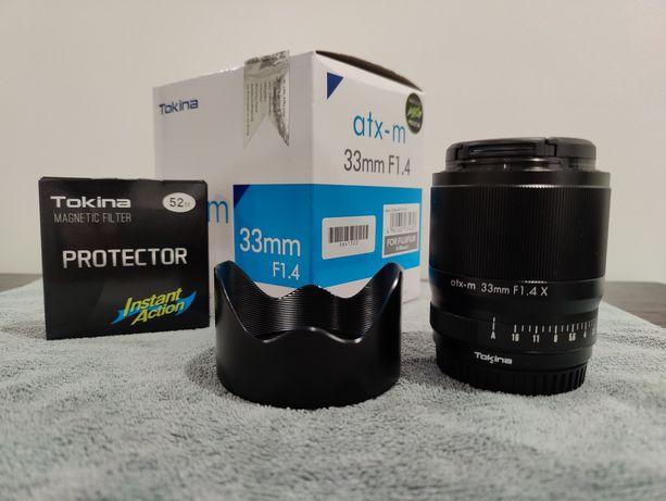 Tokina atx-m 33mm f/1.4 (Lente Fujifilm X)
