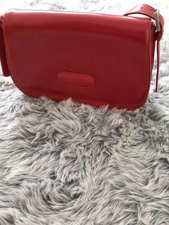 Czerwona torebka Lorenzo Pitti