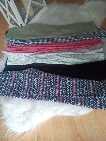 Spodnie dziewczęce 116