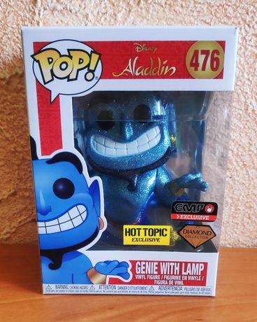 Funko pop! Genie with lamp Diamond exclusive #764 figurki funko