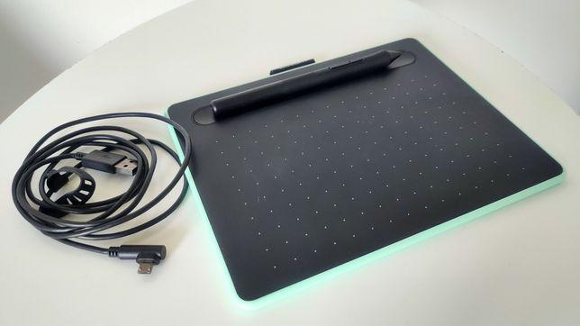 Tablet graficzny Wacom Intuos BT S Pen Bluetooth pistacjowy