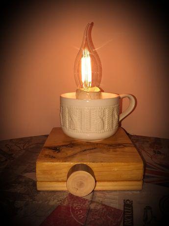 Ночник, настольная лампа, светильник, loft.