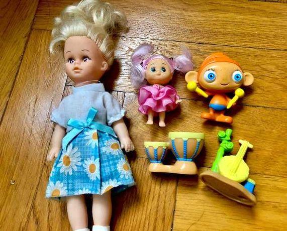 Lalki i figurki -zestaw za chusteczki