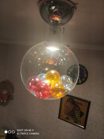 Люстра в виде шара