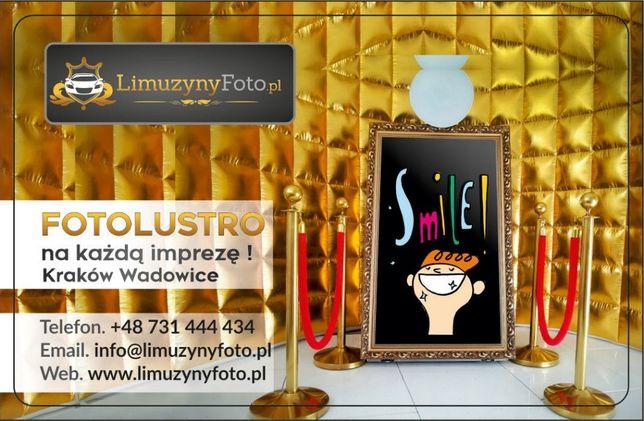 Fotolustro Fotobudka 65 cali 4K najlepsza na rynku!