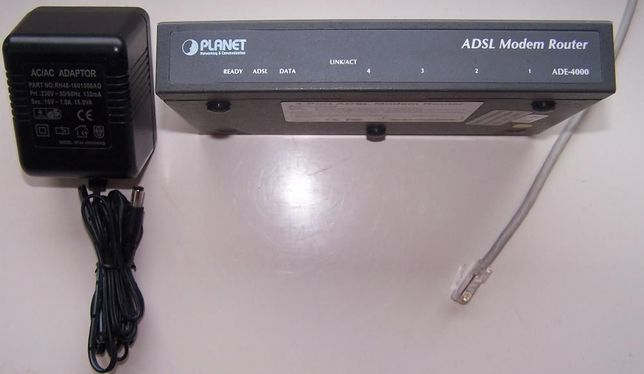 ADSL Modem Router ADE-4000 Planet
