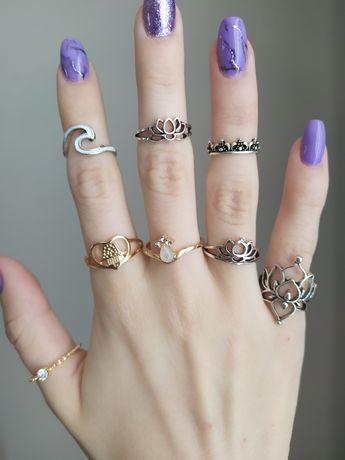 Nowe pierścionki sygnety złote i srebrne