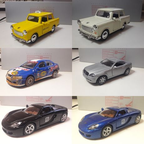 Моделі машин Dickie, Kinsmart.