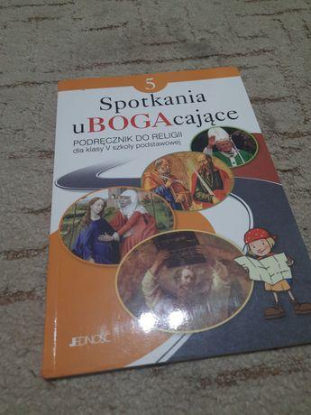 Podręcznik do Religi spotkania u BOGAcające dla 5 klasy podstawówki