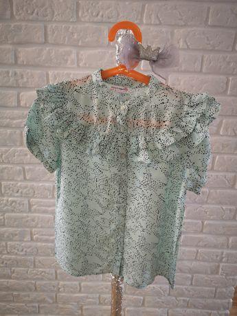 Coccodrillo Śliczna bluzka nowa 128