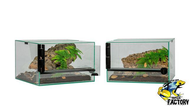 Zestaw Terrarium 30x30x20 z wyposażeniem Nowe