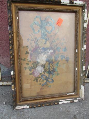 Obraz malowany na jedwabiu