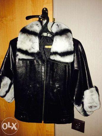 Новая Кожаная куртка