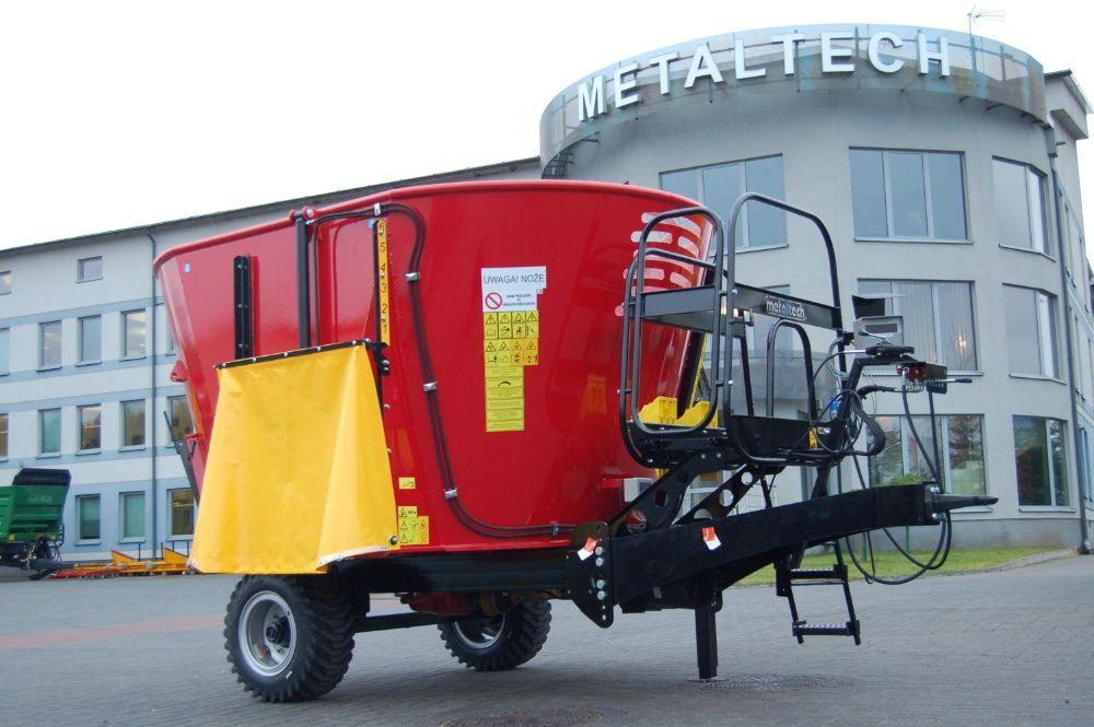 Wóz paszowy paszowóz METAL-TECH WP 8 m3 | PROMOCJA | Metalfach Alima Mirosławiec - image 1