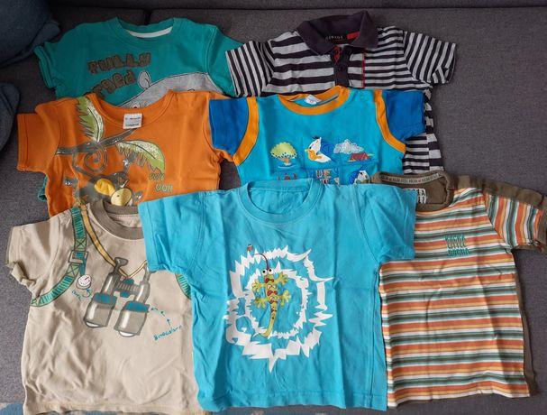 Zestaw koszulek 1-1,5 roku