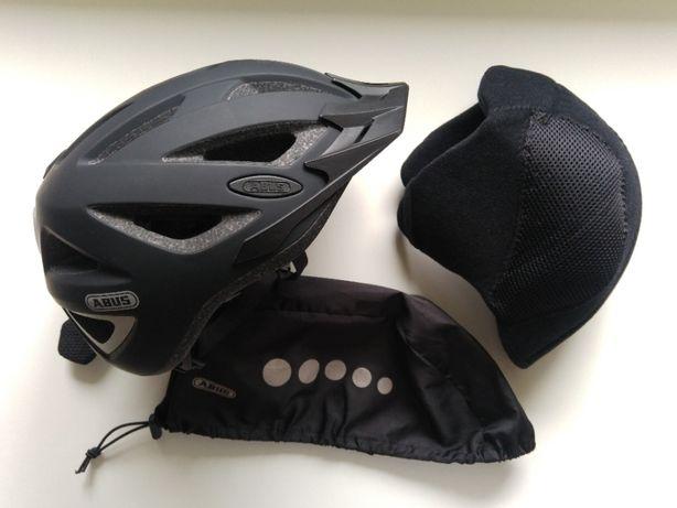 Kask rowerowy ABUS Urban-I 2.0 L LED + Winter Kit + Pokrowiec Rain Cap