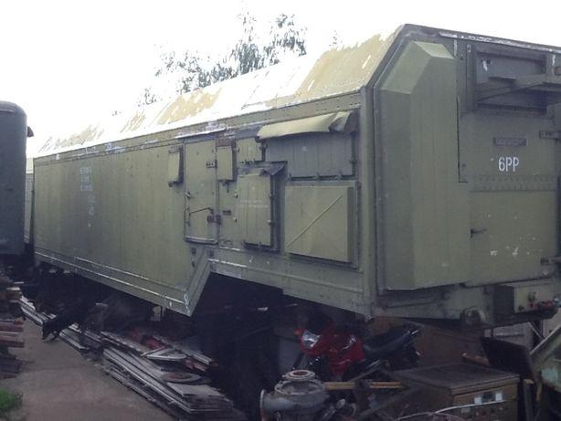 Полуприцеп-фургон ОДАЗ-9970 с конверсии
