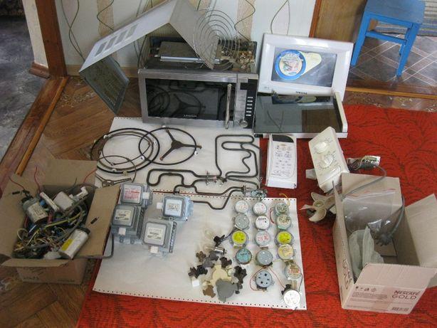 Продам микроволновку на запчасти трансформатор