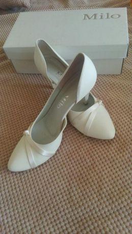 Piękne buty ślubne nowe! rozm 39