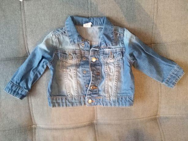 Kurtka body sweterek sukienka pajac piżamy dla dziewczynki 74 hm