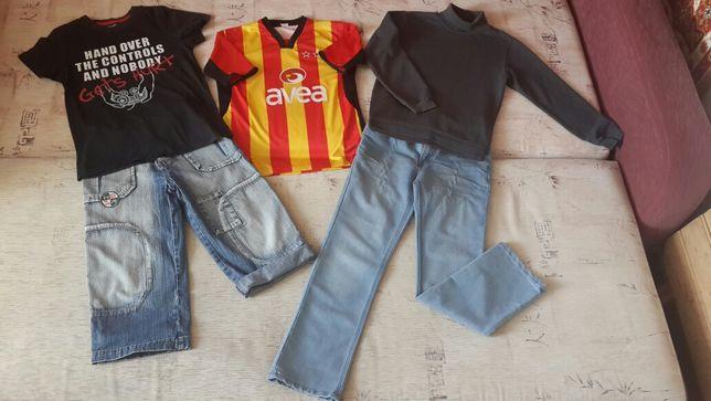 Пакет одежды,джинсы,шорты,свитер,футболки рост 146-152см,на 10-12лет