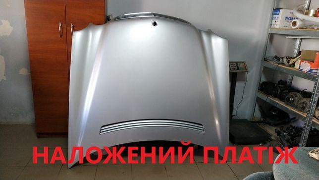 Капот Mercedes W210 рестайл серебро