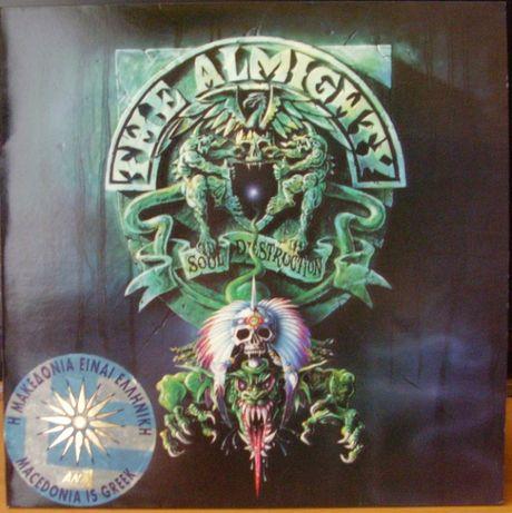 The Almighty – Soul Destruction, Vinyl