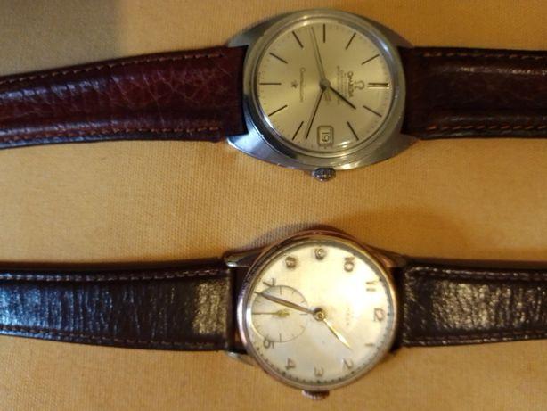 2 Relógios  Omega constellation automático ,e 1 de corda