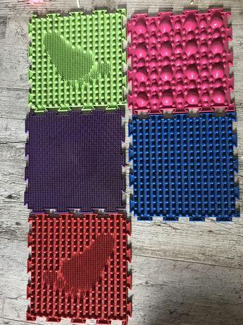 Ортопедические коврики комплект 5 штук