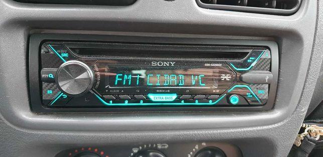 Rádio Sony RGB CDX-G3200UV