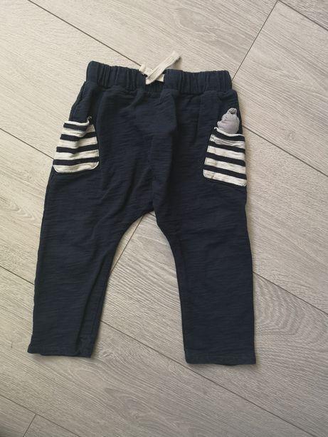 Spodnie dresowe 92 dla przedszkolaka